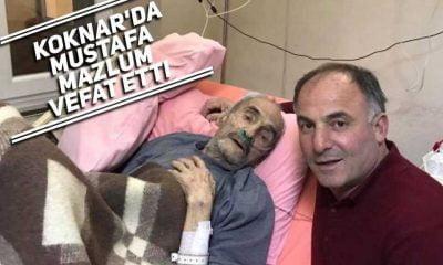 Köknar'da Mustafa Mazlum vefat etti