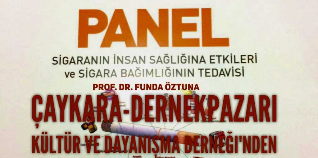 Çaykaralılar Derneğinden Trabzon'da panel