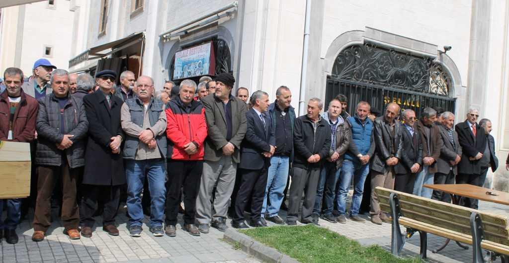 Taşkıran'da Cahit Çelebi Toprağa verildi 3