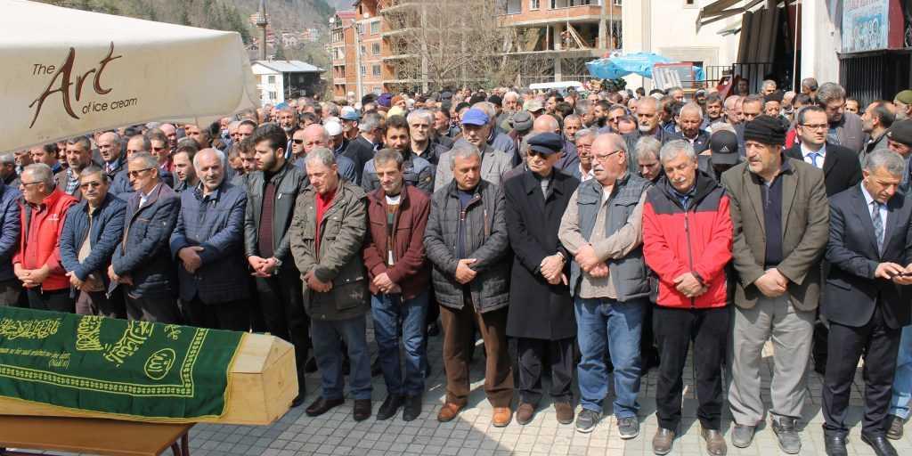 Taşkıran'da Cahit Çelebi Toprağa verildi 8