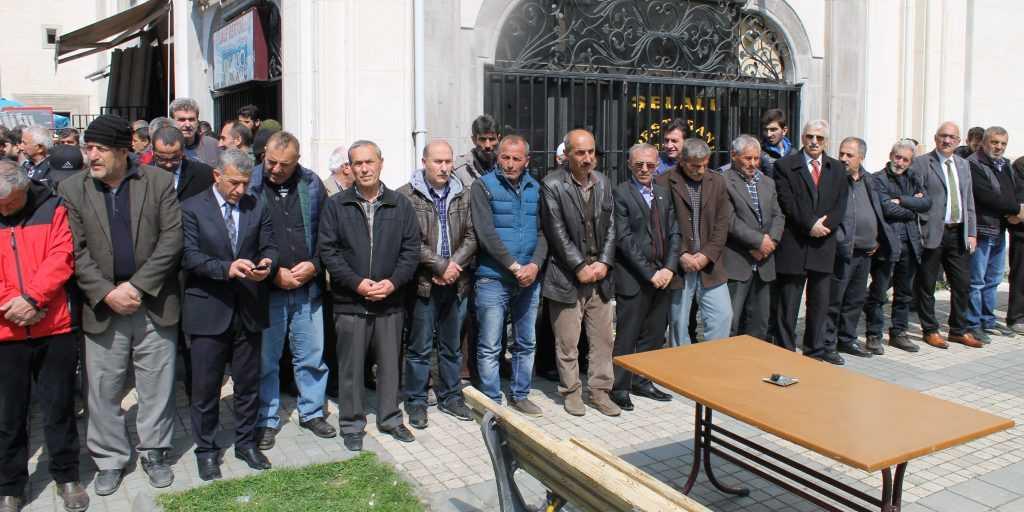Taşkıran'da Cahit Çelebi Toprağa verildi 9
