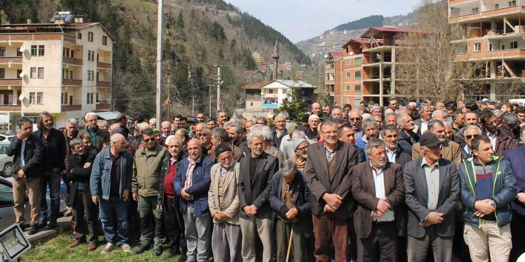 Taşkıran'da Cahit Çelebi Toprağa verildi 4
