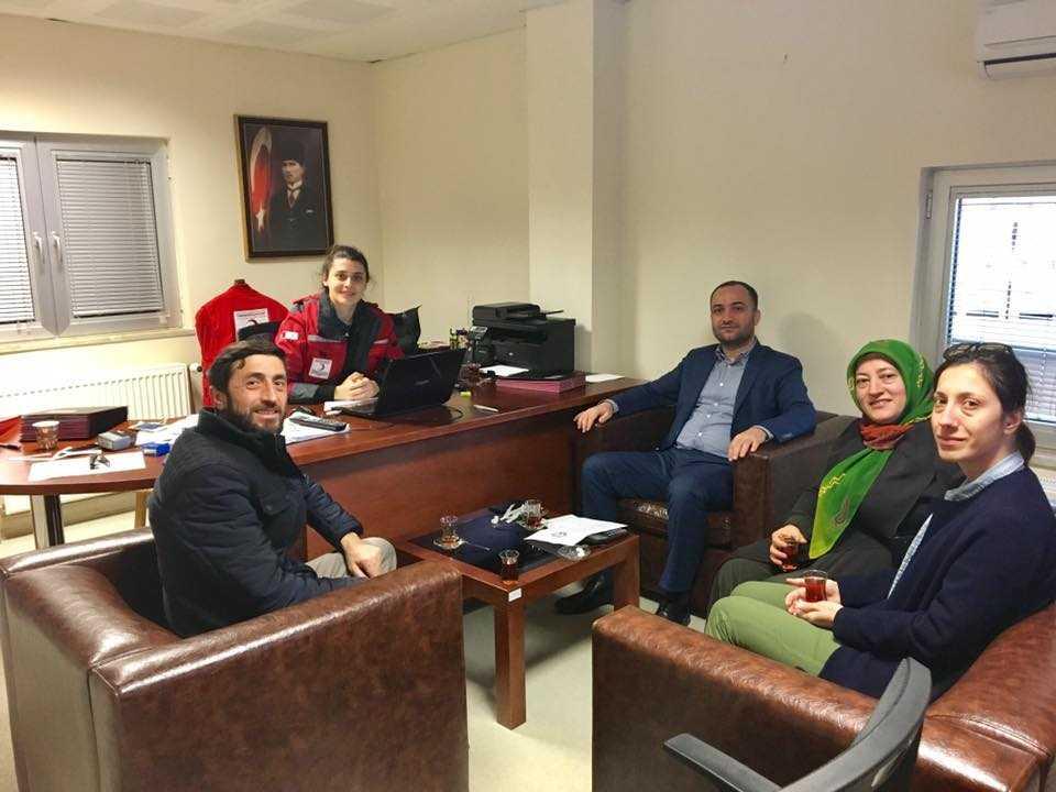 Çaykaralılardan Halep'e iki TIR insani yardım 5