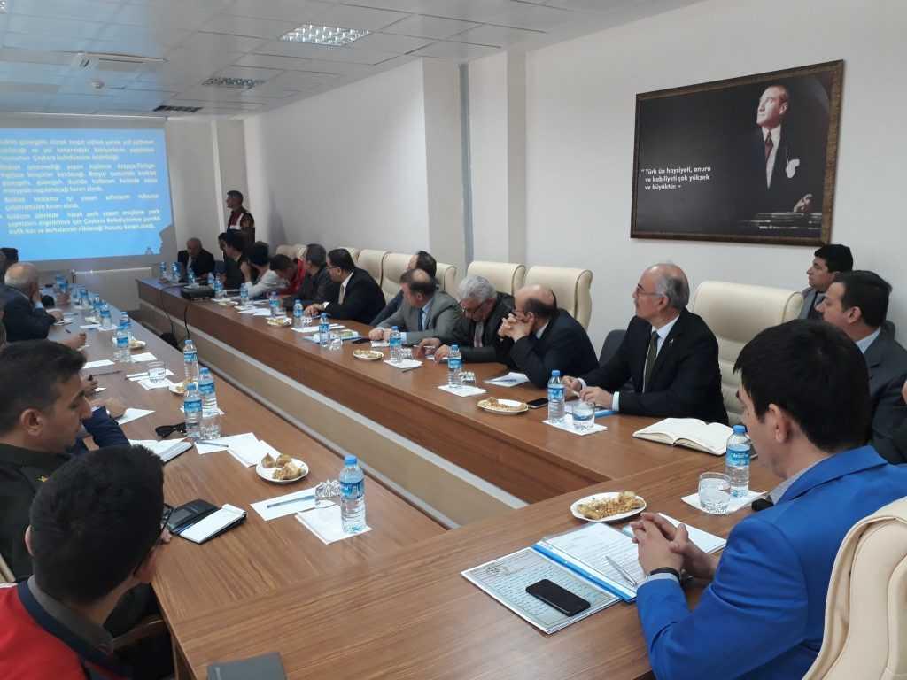 Çaykara'da turizm sezonu öncesi toplantı 2
