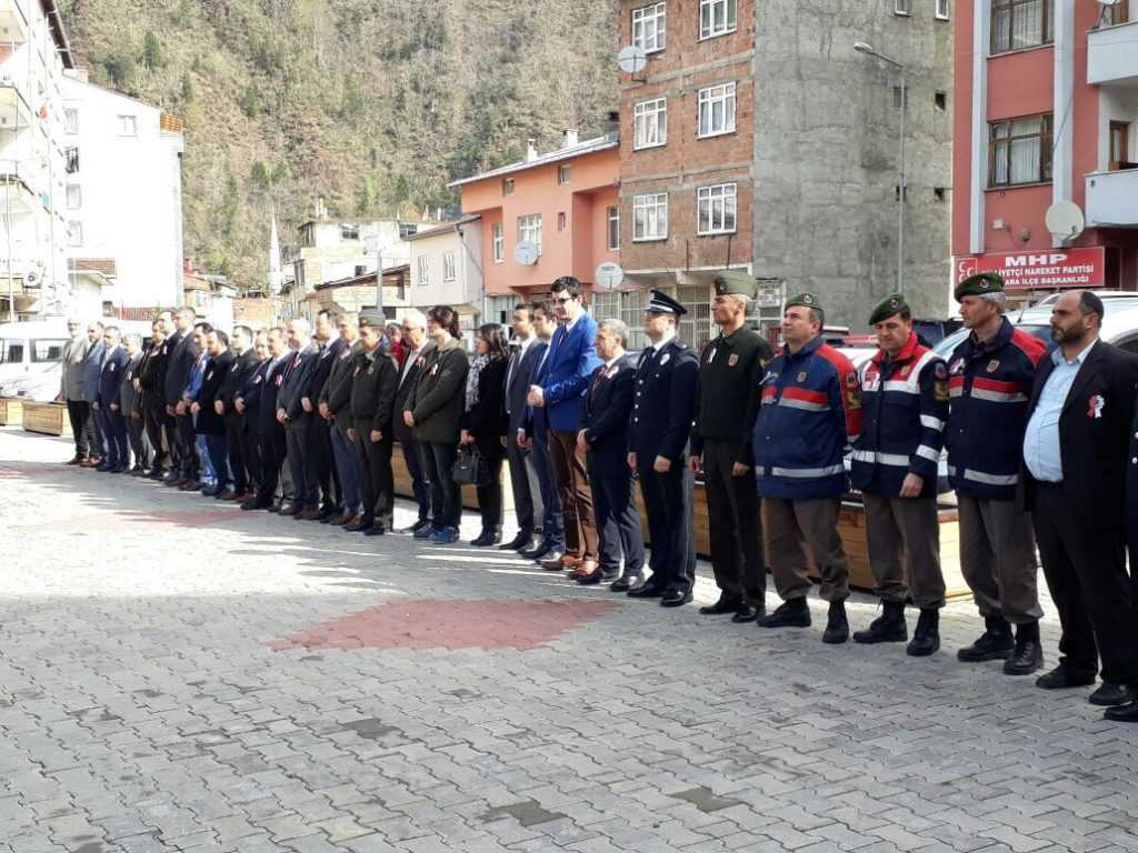 Çaykara'da Türk Polis Teşkilatının 172. Yıldönümü kutlandı 1