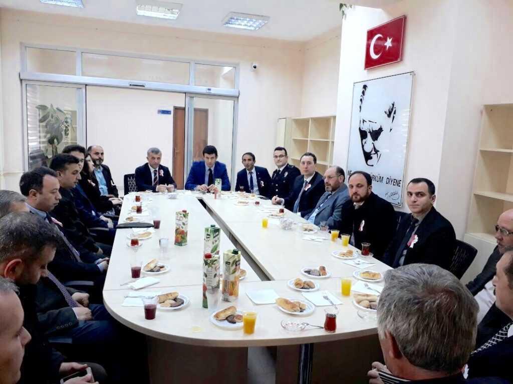 Çaykara'da Türk Polis Teşkilatının 172. Yıldönümü kutlandı 2
