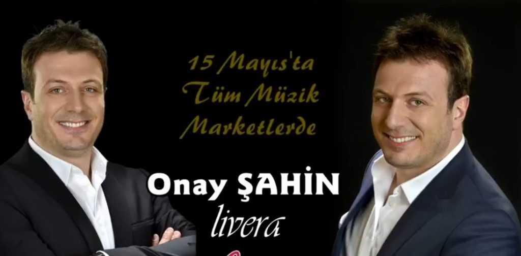 Onay Şahin LİVERA albümüyle geliyor