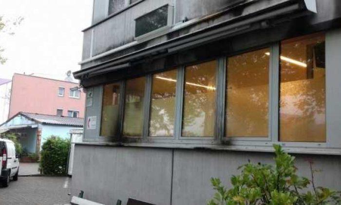 Avrupa'daki hemşehrilerimizin camisine molotoflu saldırı