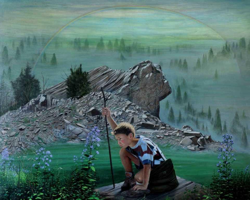 Ressam Aydın Ayan 45. yıl sergisini açtı 6