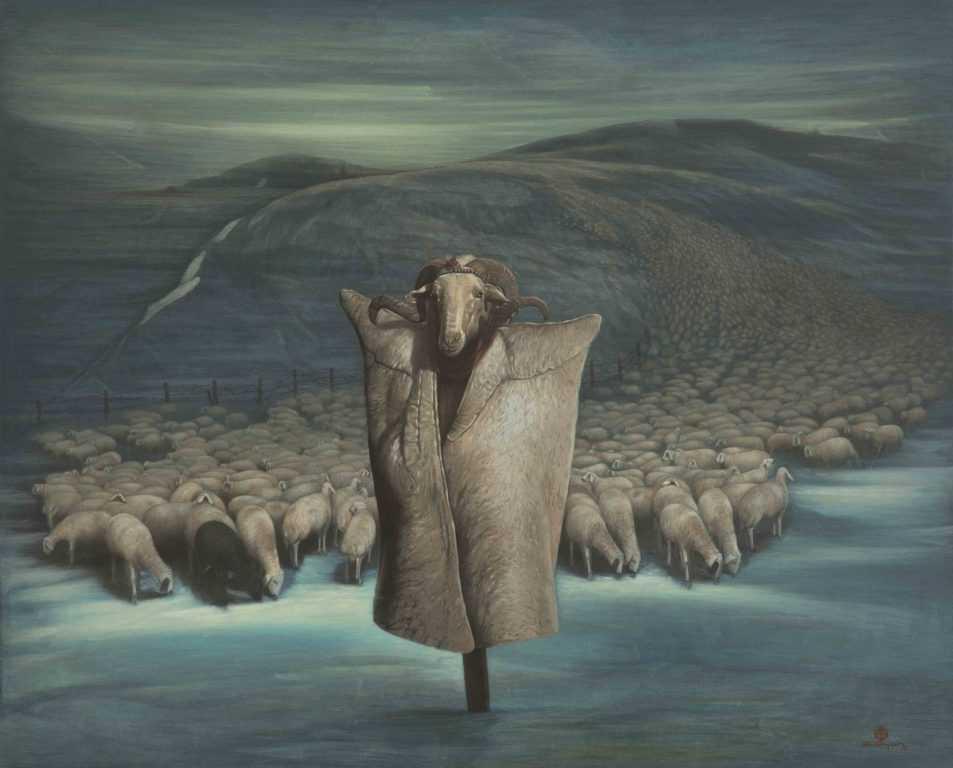 Ressam Aydın Ayan 45. yıl sergisini açtı 10
