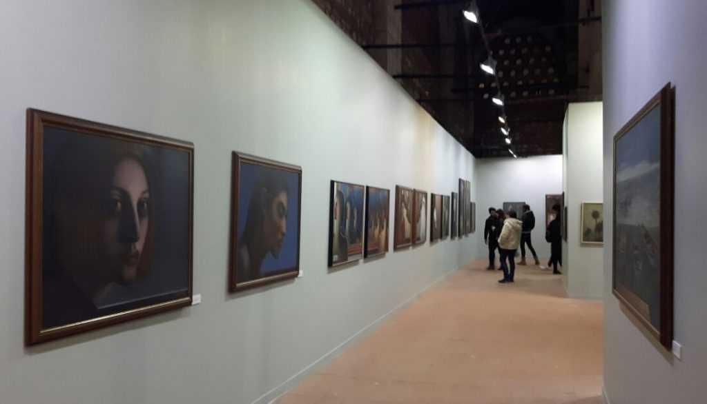 Ressam Aydın Ayan 45. yıl sergisini açtı 3