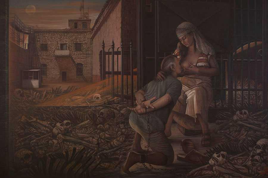 Ressam Aydın Ayan 45. yıl sergisini açtı 9