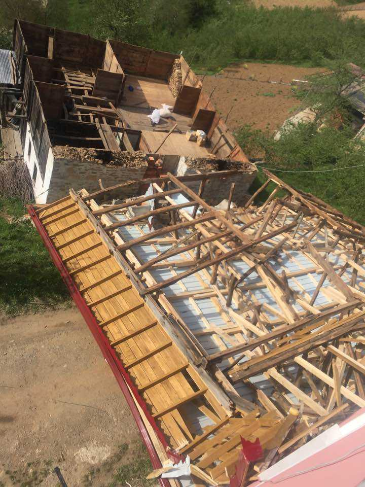 Fırtına Çaykara ve Mahallelerinde hasara neden oldu 6