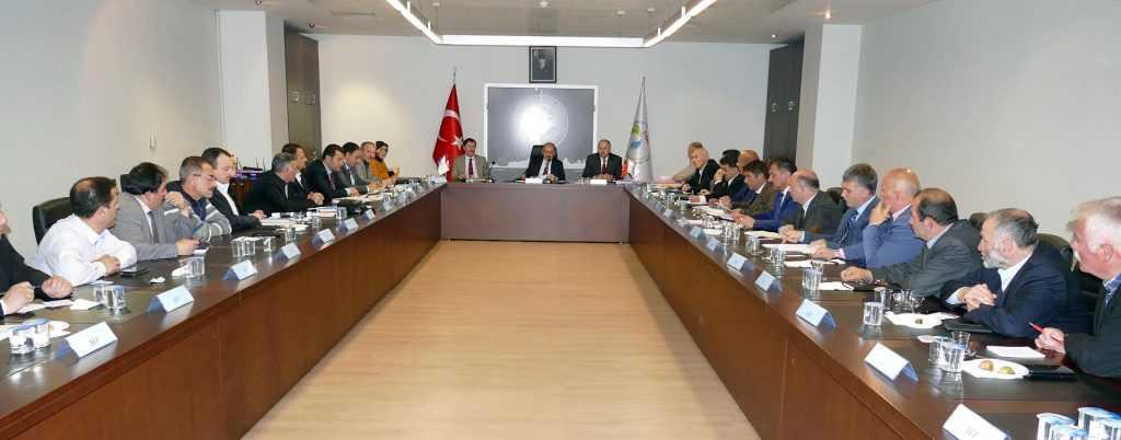 TİSKİ Genel Müdürlüğünün çalışmaları masaya yatırıldı 1