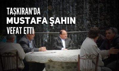 Taşkıran'da Mustafa Şahin vefat etti