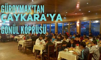 Bitlisli 100 öğrenci Çaykara'da