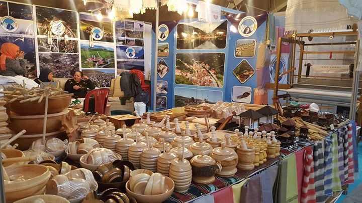 Trabzon Günlerinde kurulan Çaykara standı sizi bekliyor 2