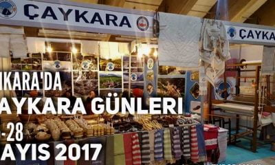 Trabzon Günlerinde kurulan Çaykara standı sizi bekliyor