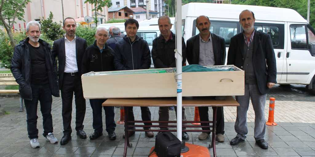 Taşkıran'da Hakime Çelebi Toprağa verildi 10