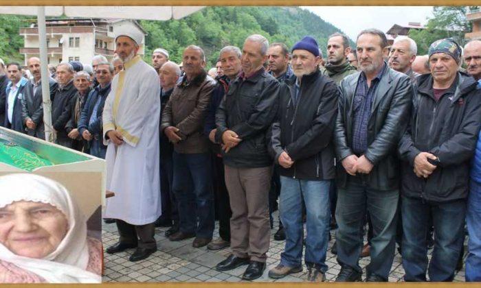 Taşkıran'da Hakime Çelebi Toprağa verildi