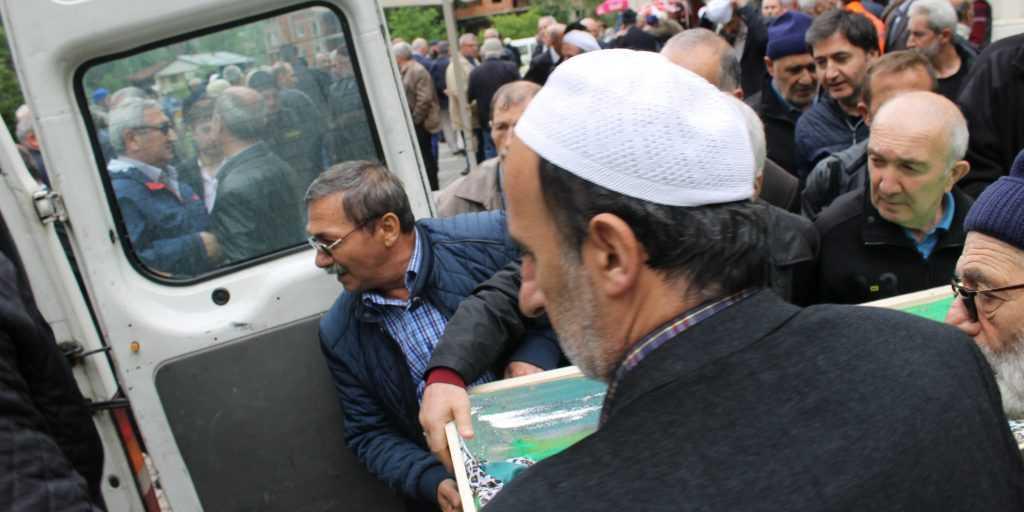 Taşkıran'da Hakime Çelebi Toprağa verildi 11