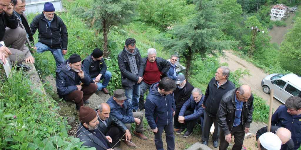 Taşkıran'da Hakime Çelebi Toprağa verildi 12