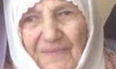 Taşkıran'da Hakime Çelebi vefat etti
