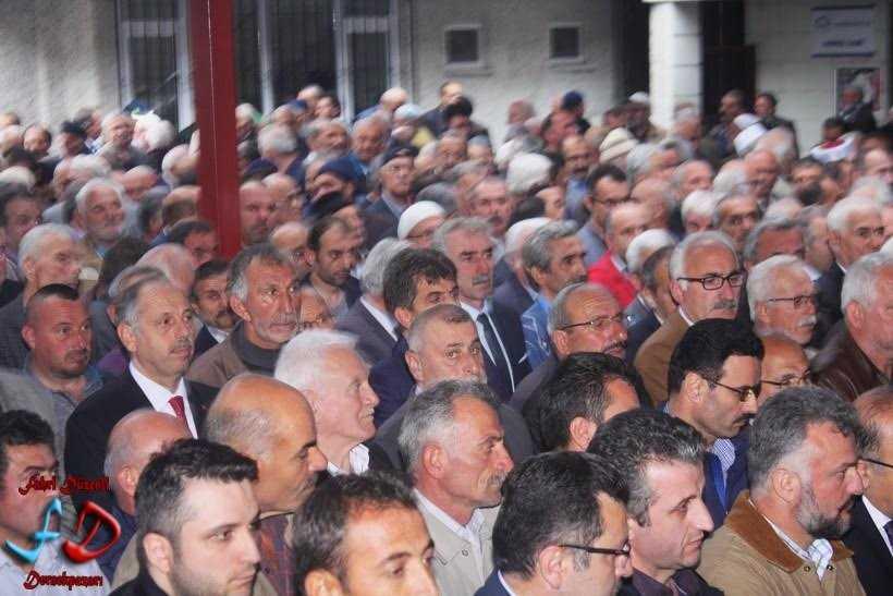 Büyükşehir Meclis Üyesi Hüseyin Dereli toprağa verildi 2