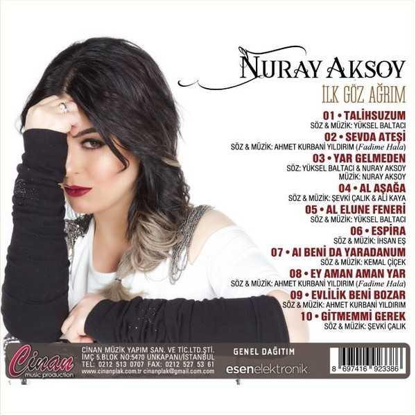 Nuray Aksoy'un yeni albümü çıktı 1