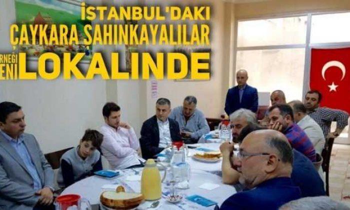 İstanbul'daki Şahinkayalılar Derneği yeni lokaline taşındı