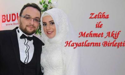 Zeliha ile Mehmet Akif dünya evine girdiler