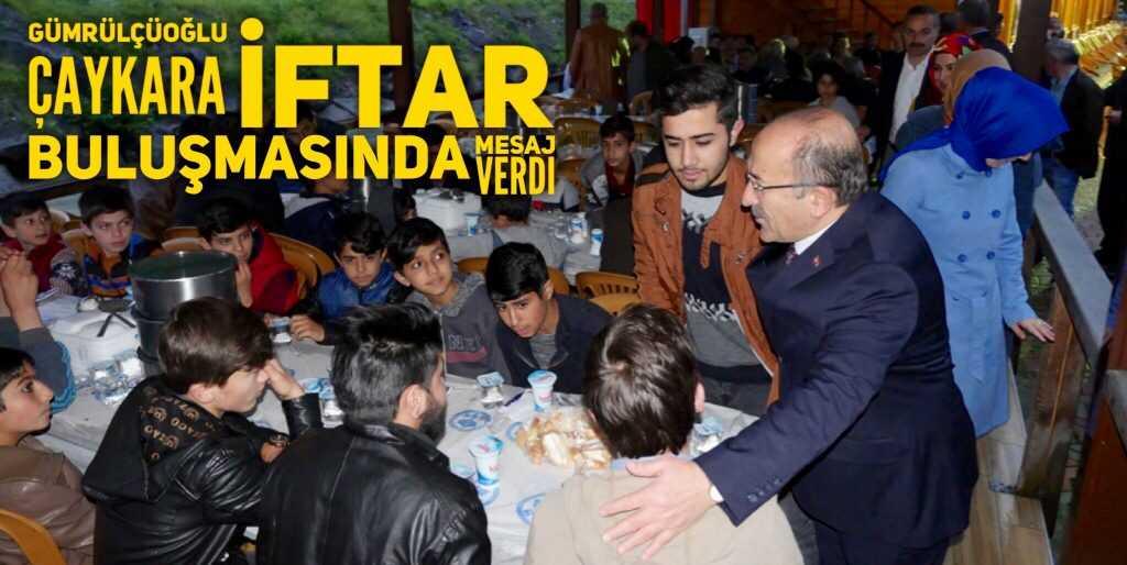 Çaykara, Büyükşehir iftarında buluştu