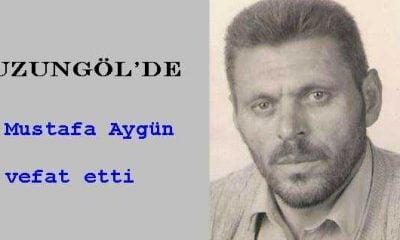 Uzungöl'de Mustafa Aygün vefat etti