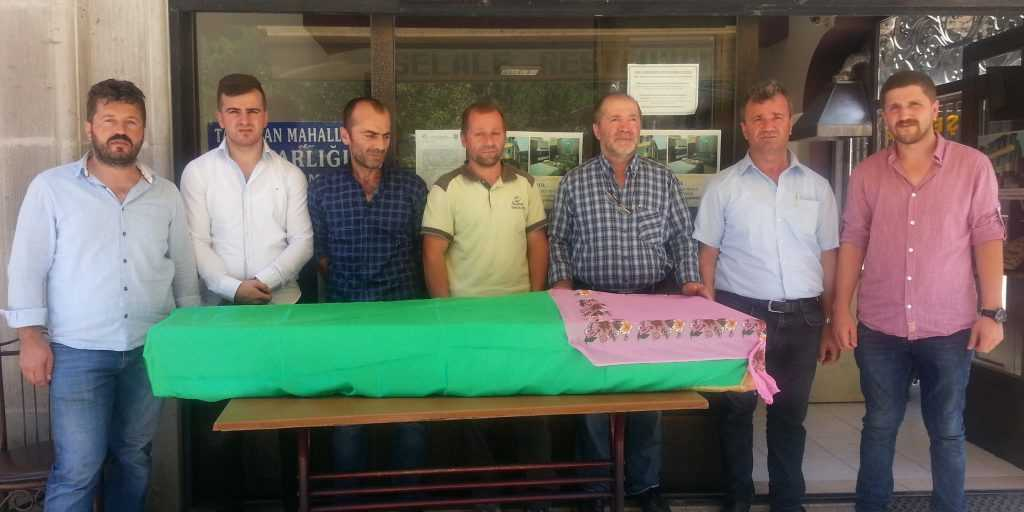 Taşkıran'da Fatma Albayrak Toprağa verildi 3