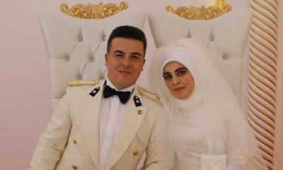Aleyna ile Hakkı muhteşem düğünle evlendi