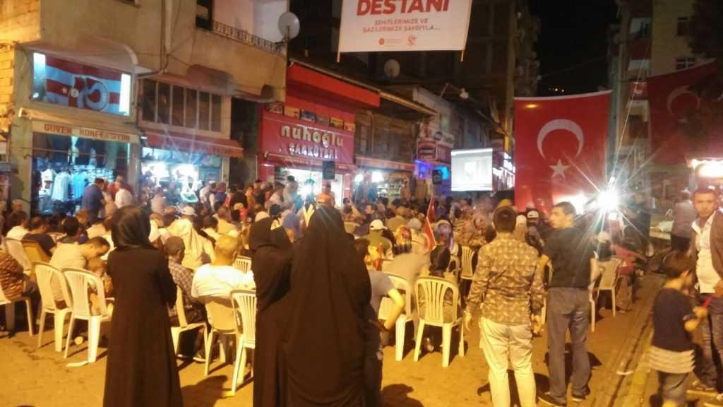 Çaykara'da 15 Temmuz Demokrasi ve Milli Birlik Günü kutlandı 2
