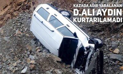 Önceki gün yaralanan D.Ali Aydın vefat etti
