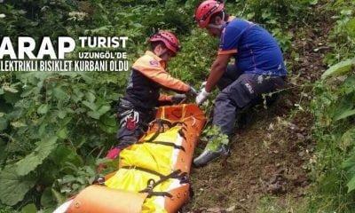 Uzungöl'de elektirkli bisiklet faciası Arap uyruklu bir kişi öldü