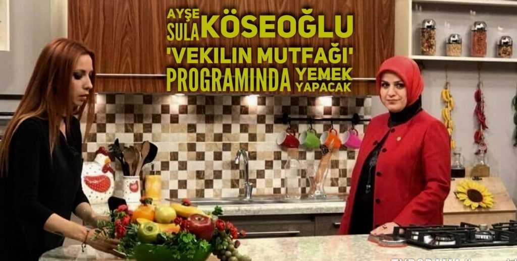 Köseoğlu TGRT HABER'de yemek yapacak