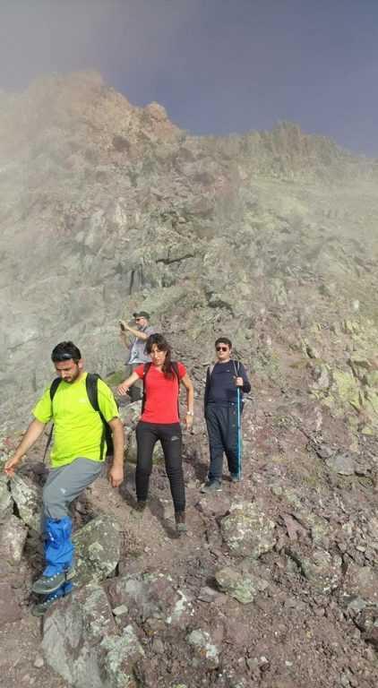 UDSAK'tan 3180 metreye yürüyüş 1