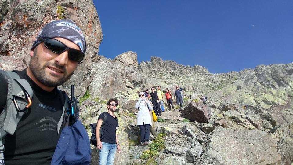 UDSAK'tan 3180 metreye yürüyüş 2