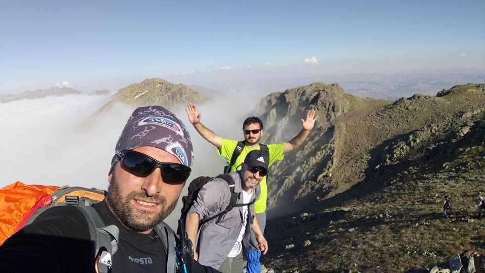 UDSAK'tan 3180 metreye yürüyüş 5