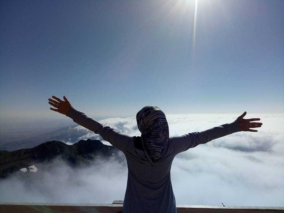 UDSAK'tan 3180 metreye yürüyüş 6