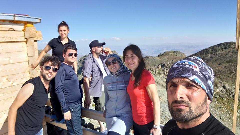 UDSAK'tan 3180 metreye yürüyüş 7