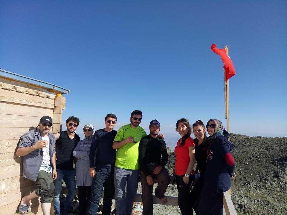 UDSAK'tan 3180 metreye yürüyüş 8