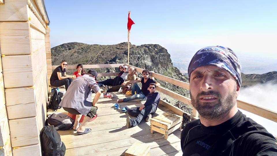 UDSAK'tan 3180 metreye yürüyüş 10