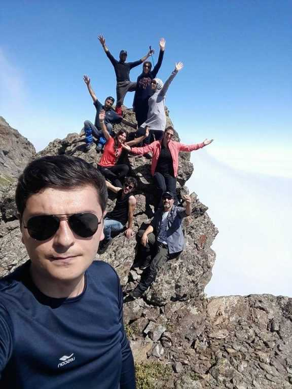 UDSAK'tan 3180 metreye yürüyüş 12