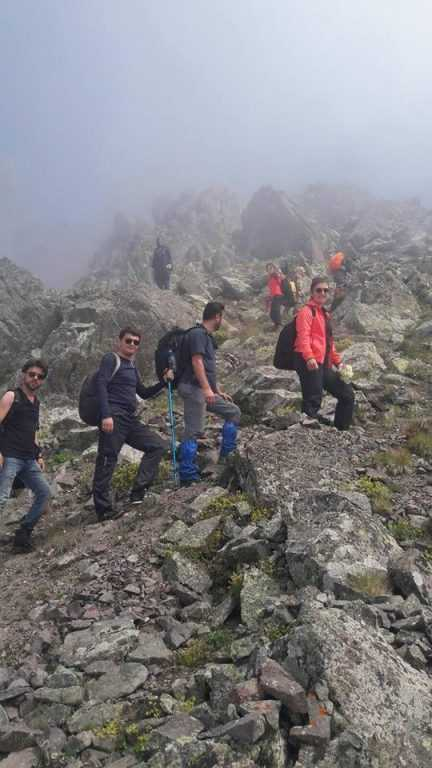 UDSAK'tan 3180 metreye yürüyüş 13