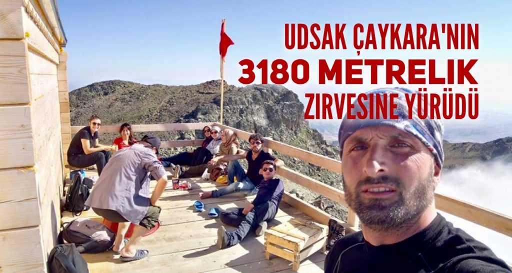 UDSAK'tan 3180 metreye yürüyüş