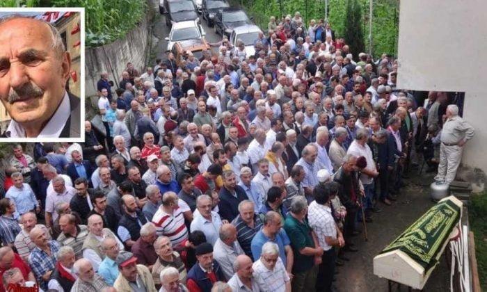 Emekli öğretmen Mehmet Sanisoğlu Holo'da toprağa verildi